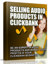 Selling Audio Products in Clickbank